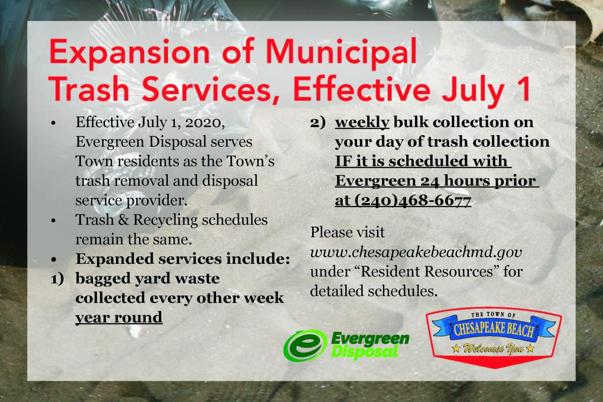 Expansion of municipal services