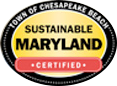 Town of Chesapeake Beach, Sustainable Maryland, Certified