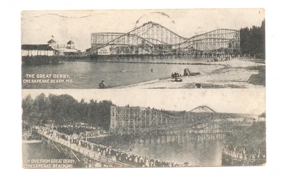 Great Derby Postcard