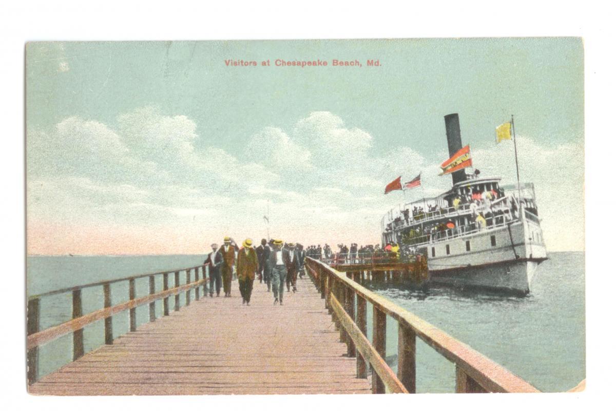 Steamship in Color