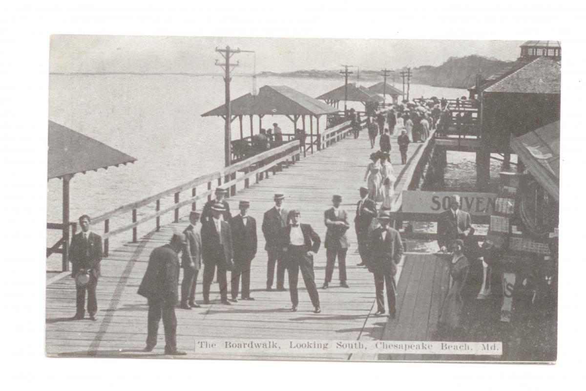 Boardwalk looking south