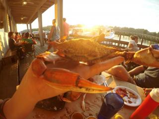Crabs at Abners Crab House
