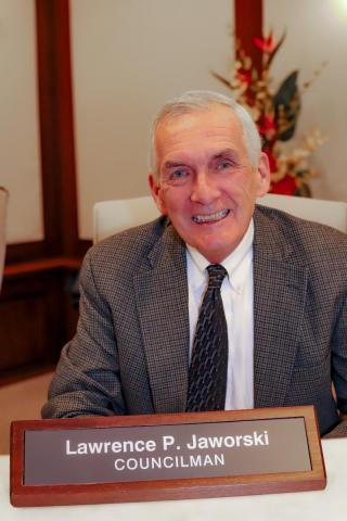 Councilman Jaworski smiling